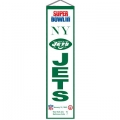 "New York Jets NFL Wool 8"" x 32"" Heritage Banners"