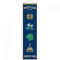 "Notre Dame Fighting Irish NCAA Wool 8"" x 32"" Heritage Banners"