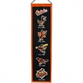 "Baltimore Orioles MLB Wool 8"" x 32"" Heritage Banner"