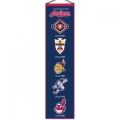 "Cleveland Indians MLB Wool 8"" x 32"" Heritage Banner"