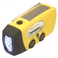 SolaDyne Solar Powered Emergency Radio & Flashlight