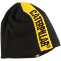 Caterpillar CAT Black Power Stripe Winter Beanie Cap