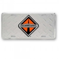 International Trucks Aluminum License Plate