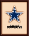 Imperial USA Dallas Cowboys 3D Wooden Wall Art