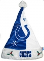 Indianapolis Colts Color Block Santa Hat