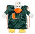 Miami Hurricanes School Backpack Pal