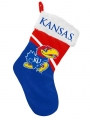 "Kansas Jayhawks 17"" Christmas Stocking"