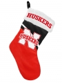 "Nebraska Cornhuskers 17"" Christmas Stocking"
