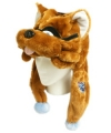 Tennessee Titans T-Rex Mascot Themed Dangle Hat