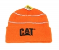 Caterpillar CAT High Vis Safety Orange Winter Beanie Cap
