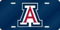 Arizona Wildcats Blue Laser Cut License Plate