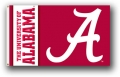 "Alabama Crimson Tide ""A"" 3x5 Flag"