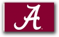 "Alabama Crimson Tide ""A"" Only 3x5 Flag"