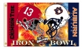 Alabama Crimson Tide/Auburn Tigers Iron Bowl Rivalry 3 x 5 Flag