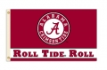 "Alabama Crimson Tide ""Roll Tide Role"" 3x5 Flag"