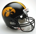 "Iowa Hawkeyes Full Size """"Deluxe"""" Replica Helmet by Riddell"