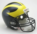 "Michigan Wolverines Full Size """"Deluxe"""" Replica Helmet by Riddell"