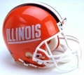 Illinois Fighting Illini NCAA Authentic Full Size Helmet