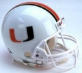 Miami Hurricanes NCAA Authentic Full Size Helmet