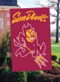Arizona State Sun Devils Embroidered Vertical Outdoor Flag