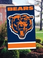 Chicago Bears NFL Embroidered Vertical Outdoor Flag