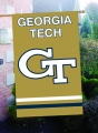 Georgia Tech Yellow Jackets Embroidered Vertical Outdoor Flag