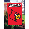 Louisville Cardinals Embroidered Vertical Outdoor Flag