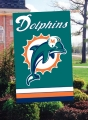 Miami Dolphins NFL Embroidered Vertical Outdoor Flag