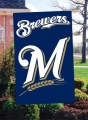 Milwaukee Brewers MLB Embroidered Vertical Outdoor Flag