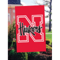 Nebraska Cornhuskers Embroidered Vertical Outdoor Flag