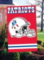 New England Patriots NFL Old School Embroidered Vertical Outdoor Flag