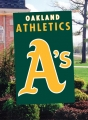 Oakland Athletics MLB Embroidered Vertical Outdoor Flag
