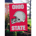 Ohio State Buckeyes Football Helmet Embroidered Vertical Outdoor Flag