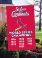St. Louis Cardinals MLB World Series Embroidered Vertical Outdoor Flag