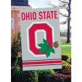 Ohio State Buckeyes Embroidered Vertical Outdoor Flag
