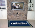 San Diego Chargers NFL Area House Rugs NFL Area House Rugs