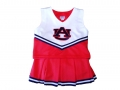 Auburn Tigers NCAA College Youth Cheerleading Home Orange Outfits-FREE SHIPPING