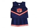 Auburn Tigers NCAA College Youth Cheerleading Away Blue Outfits-FREE SHIPPING