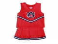 Auburn Tigers NCAA College Youth Cheerleading Away Orange Outfits-FREE SHIPPING