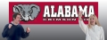 Alabama Crimson Tide 8' x 2' Embroidered Party Banner