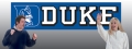 Duke Blue Devils 8' x 2' Embroidered Party Banner
