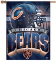 "Chicago Bears NFL 27"" x 37"" Vertical Outdoor Flag Pole Flag"