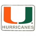 Miami Hurricanes NCAA Logo Style Hitch Cover