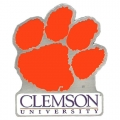 Clemson Tigers NCAA Logo Style Hitch Cover
