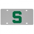 Michigan State Spartans NCAA Stainless Steel License Plate