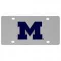 Michigan Wolverines NCAA Stainless Steel License Plate