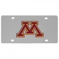 Minnesota Golden Gophers NCAA Stainless Steel License Plate