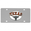 Texas Longhorns NCAA Stainless Steel License Plate