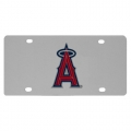 Anaheim Angels MLB Stainless Steel License Plate