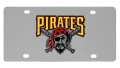 Pittsburgh Pirates MLB Stainless Steel License Plate